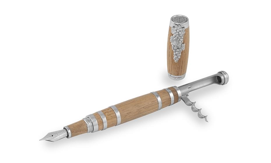 Перьевая ручка Montegrappa Штопор, перо F, сталь, дерево  TIREB-FP TIREB-FP