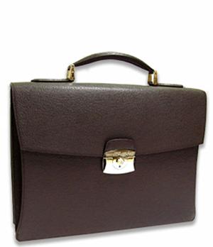 Портфель S.T. Dupont Contraste, кожа, т-коричневый  181751