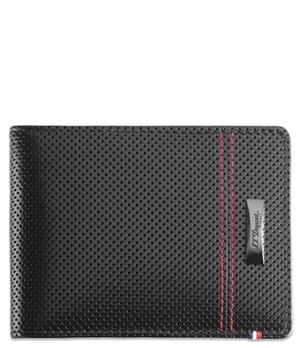 Бумажник S.T. Dupont MCLaren, кожа, черный  170401MC