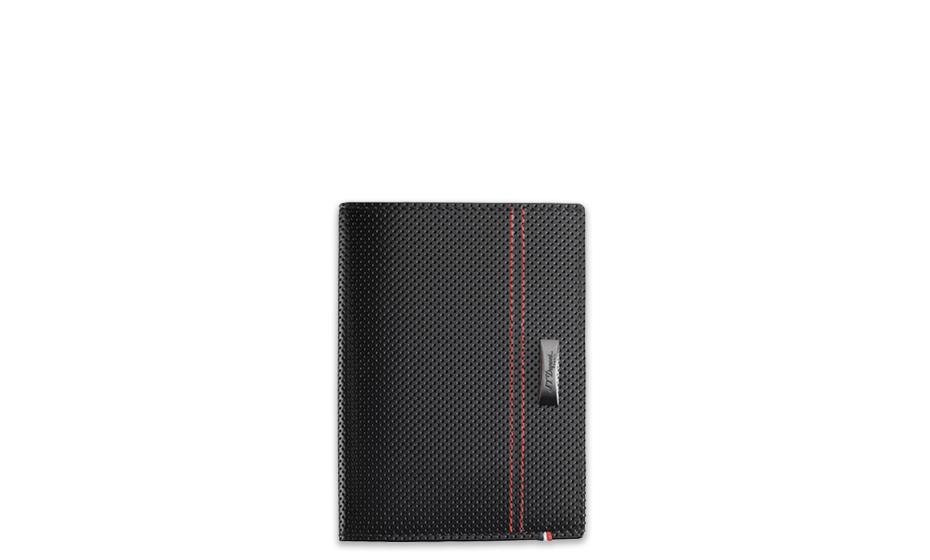 Обложка для паспорта S.T. Dupont McLaren, перфорированная кожа, черный  170412MC