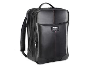 Рюкзак S.T. Dupont McLAREN 2016, перфорированная кожа, черный  171406MC