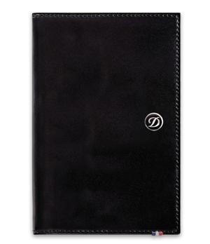 Бумажник S.T. Dupont Elysee, вертикальный, кожа, черный  180004