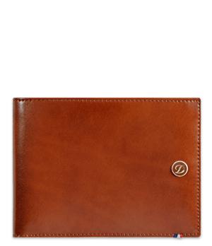 Бумажник S.T. Dupont Elysee, кожа, коричневый  180102