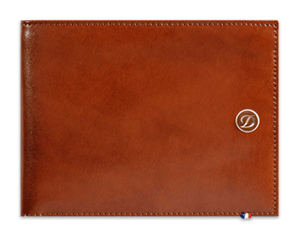 Бумажник S.T. Dupont Elysee, кожа, коричневый  180103