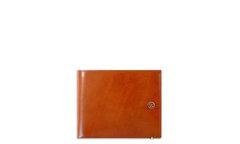 Бумажник S.T. Dupont натуральная кожа, 12,5 х 10 см  180106
