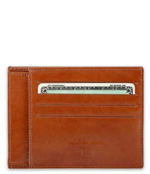 Кредитница S.T. Dupont Line D, 4сс, кожа, коричневая  180111