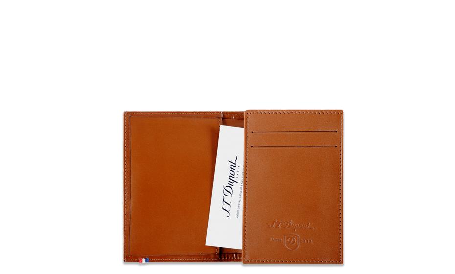 Чехол S.T. Dupont Line D кожа Elys?e, для визиток, коричневый  180113