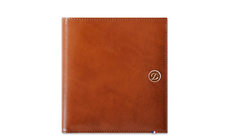 Бумажник S.T. Dupont Elysee, кожа, коричневый  180128
