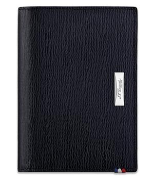 Бумажник S.T. Dupont Contraste, кожа, черный  180347