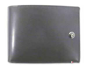 Бумажник S.T. Dupont Elysee, кожа, серый  180502