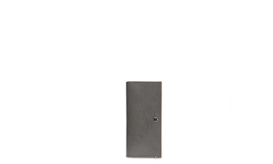 Бумажник S.T. Dupont Elysee, вертикальный, кожа, серый  180505