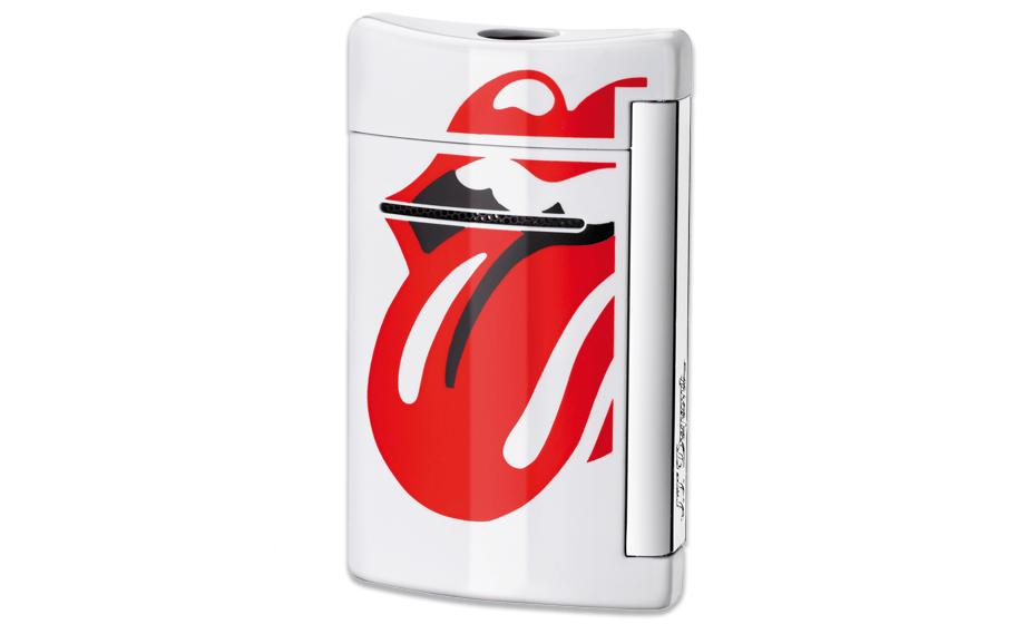 Зажигалка S.T. Dupont Rolling Stones, мини, белая  10109