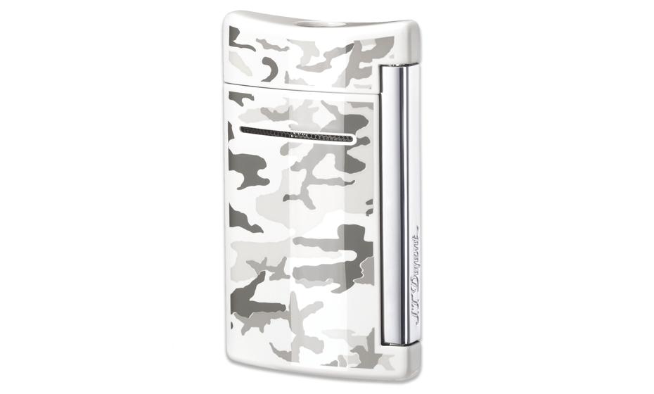 Зажигалка S.T. Dupont MINIJET, мини, белая  10089