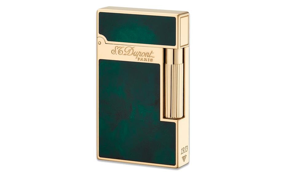 Зажигалка S.T. Dupont Atelier 1953, зеленый лак  16259