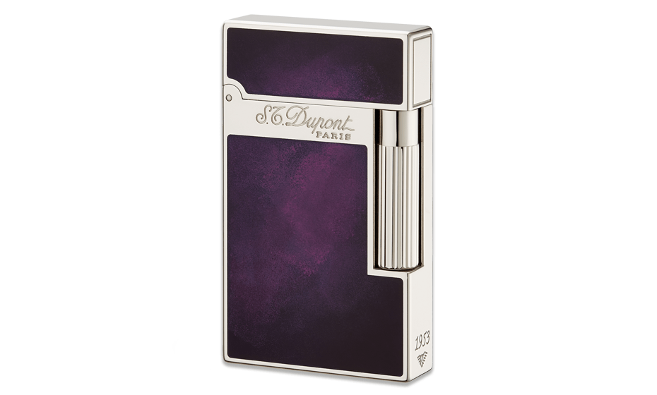 Зажигалка S.T. Dupont Atelier 1953, фиолетовый лак  16260