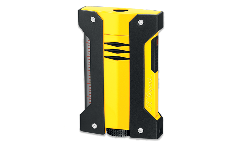 Зажигалка S.T. Dupont Defi extreme, желтая  21405