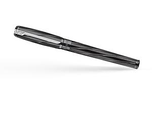 Перьевая ручка S.T. Dupont Дж.Бонд, черный, палладий  141034