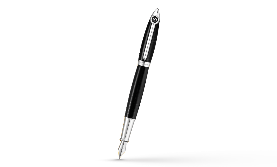 Перьевая ручка S.T. Dupont Streamliner, палладий  251674