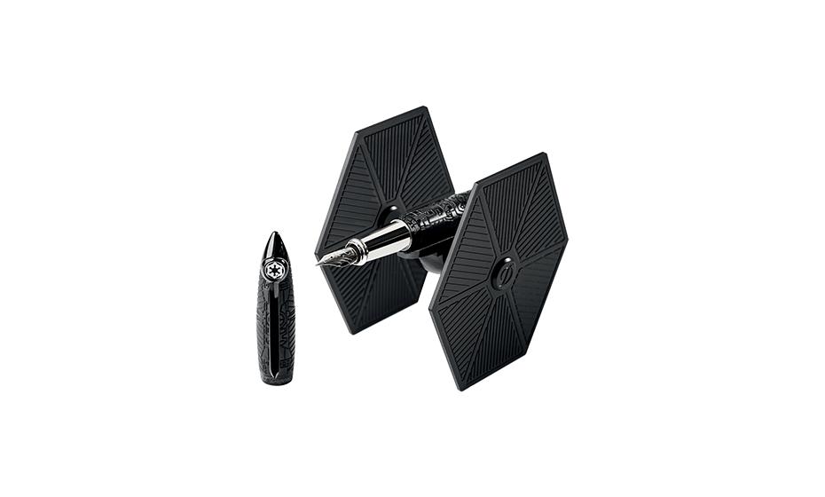 Перьевая ручка S.T. Dupont Star Wars, Ceramium A.C.T., черный  251683
