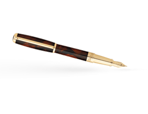 Перьевая ручка S.T. Dupont Atelier 1953, коричневая  410699