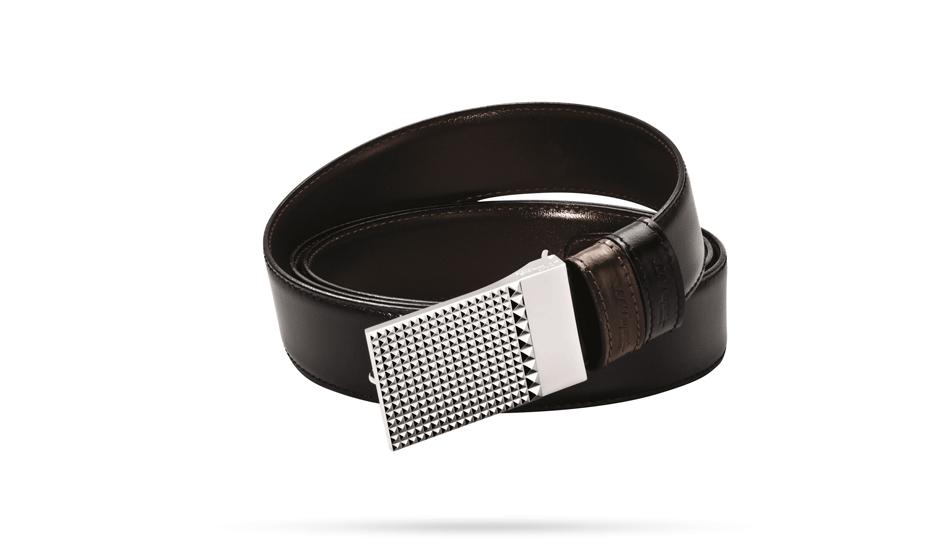 Ремень S.T. Dupont BUSINESS CHIC, кожа, двухсторонний, черн  7750120