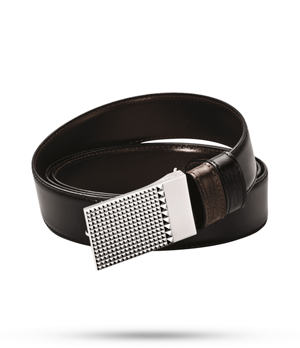 Ремень S.T. Dupont ST Dupont BUSINESS CHIC, кожа, двухсторонний, черн  7750120