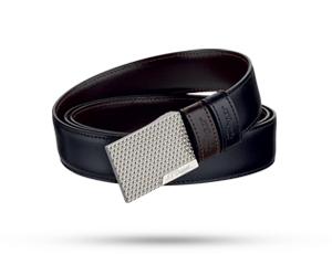 Ремень S.T. Dupont BUSINESS FIREHEAD, кожа, черный-коричневый  8000120