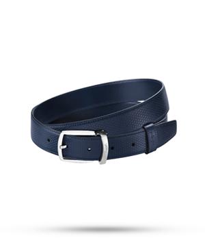 Ремень S.T. Dupont TONY STARK, кожа, синий  8210170