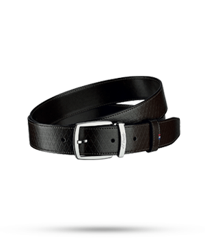 Ремень S.T. Dupont FIREHEAD LINE D, кожа с тиснением, темно-коричневы  8210801