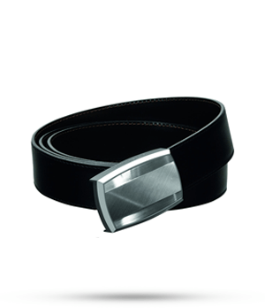 Ремень S.T. Dupont LINE D, кожа, синий-серый  9020120