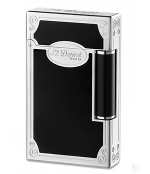 Зажигалка S.T. Dupont S.T. Dupont LIGNE 2, черный лак, палладий  16741