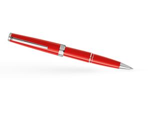 Чернильная ручка Montblanc Pix, коралловый, платиновое напыление  114813