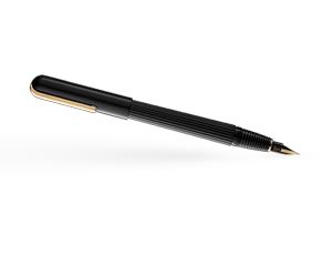 Перьевая ручка Lamy 060 imporium, черный/золотое покрытие  4027926