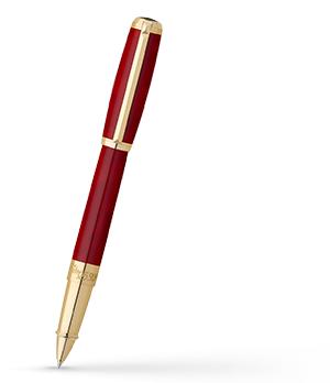 Чернильная ручка S.T. Dupont Line D ATELIER, лак, хром, красный  412710