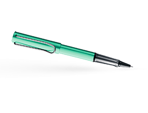Чернильная ручка Lamy 332 al-star, сине-зеленая  4026064