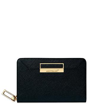 Бумажник Montblanc Montblanc Sartorial, кожа, отделения для купюр, мо  114594