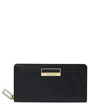 Бумажник Montblanc Montblanc Sartorial, кожа, отделения для купюр, мо  114599