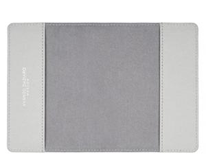 Обложка для паспорта Avanzo Daziaro SAFFIANO, кожа, птицы на сером  AD-019-1019EG'
