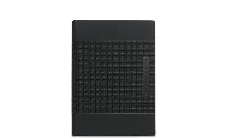 Блокнот Hugo Boss Grid, А6, экокожа  HNM524