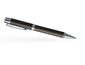 Шариковая ручка Hugo Boss Bold, латунь, черная  HSW6494A