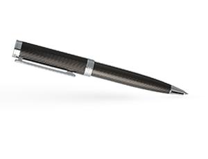 Шариковая ручка Hugo Boss Column, латунь, темный хром  HSW6514