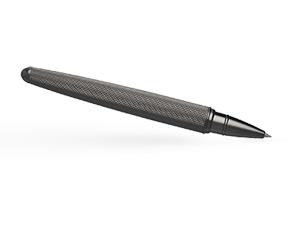 Чернильная ручка Hugo Boss Pure Mate Dark Chrome, латунь, матовый темный хром  HSY6035