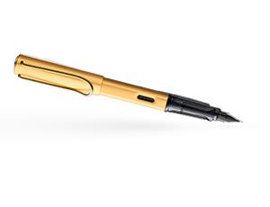 Перьевая ручка Lamy Lamy Lx,  алюминий, золото, перо Fine.  4031502