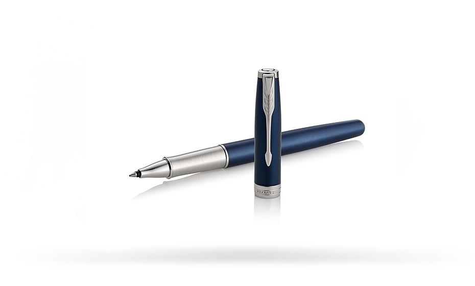 Чернильная ручка Parker Соннет, синий лак, нержавеющая сталь, палладий  1948087