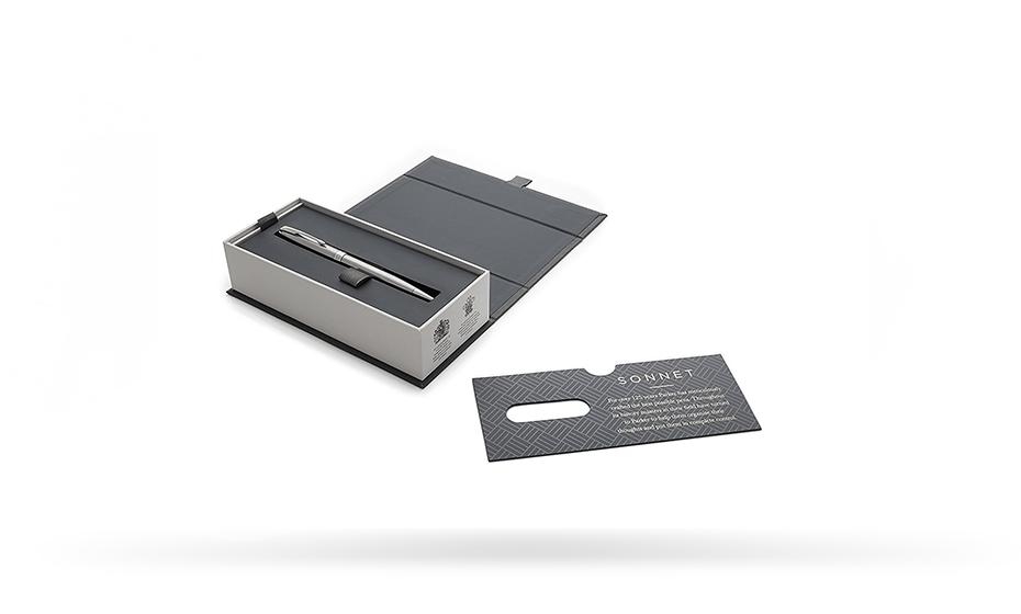 Шариковая ручка Parker Соннет, латунь, нержавеющая сталь, палладий  1931512 351179315126