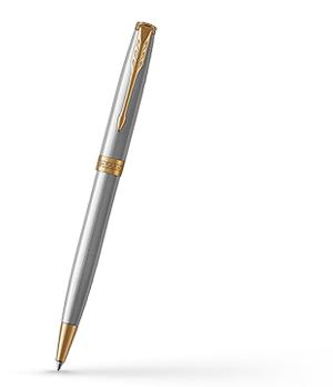 Шариковая ручка Parker Соннет, латунь, нержавеющая сталь, позолота  1931507