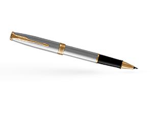 Чернильная ручка Parker Соннет, латунь, нержавеющая сталь, позолота  1931506