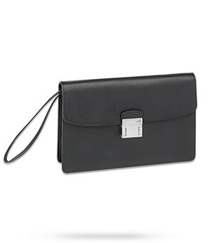 Клатч Montblanc Sartorial Clutch Bag, кожа с тиснением, палладиево  113190