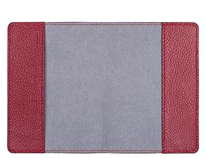 Обложка для паспорта Avanzo Daziaro GRAIN, зернистая кожа, красная  AD-018-101904'