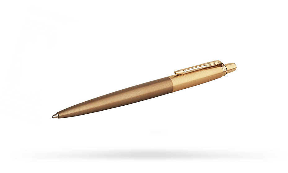 Шариковая ручка Parker Parker Jotter Premium, West End Brushed GT, нержав  1953203 3501179532035